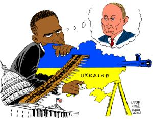 Latuff_Obama_vs_Poutine_Ukraine-36623-2215c-600x467